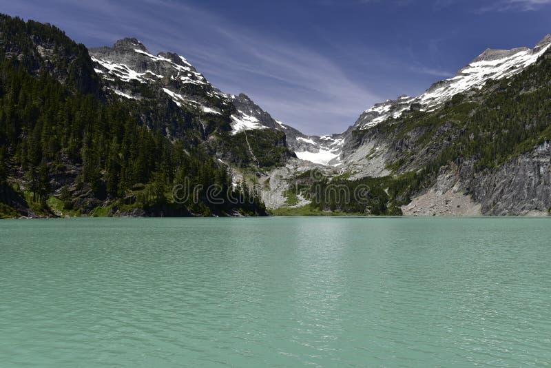 Blanca Lake, Washington, USA stockbild