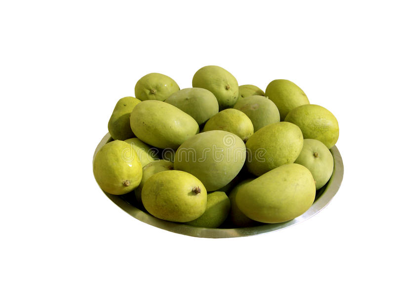 Blanched Mango royalty free stock photo