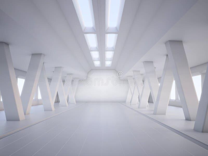 Blanco abstracto de la configuración fotografía de archivo