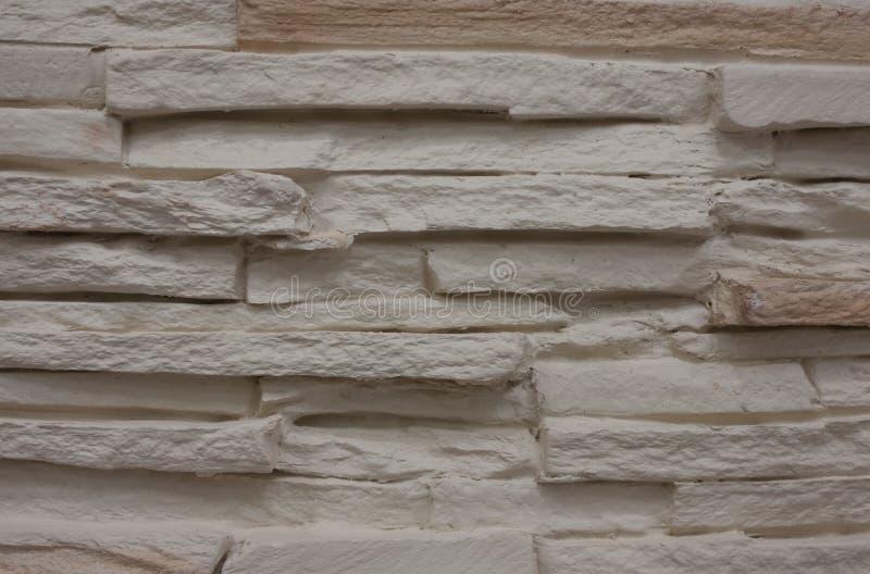Blanco de la pared de ladrillo imagen de archivo libre de regalías