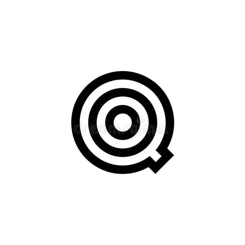 Blanco de Logo Letter Q del vector libre illustration