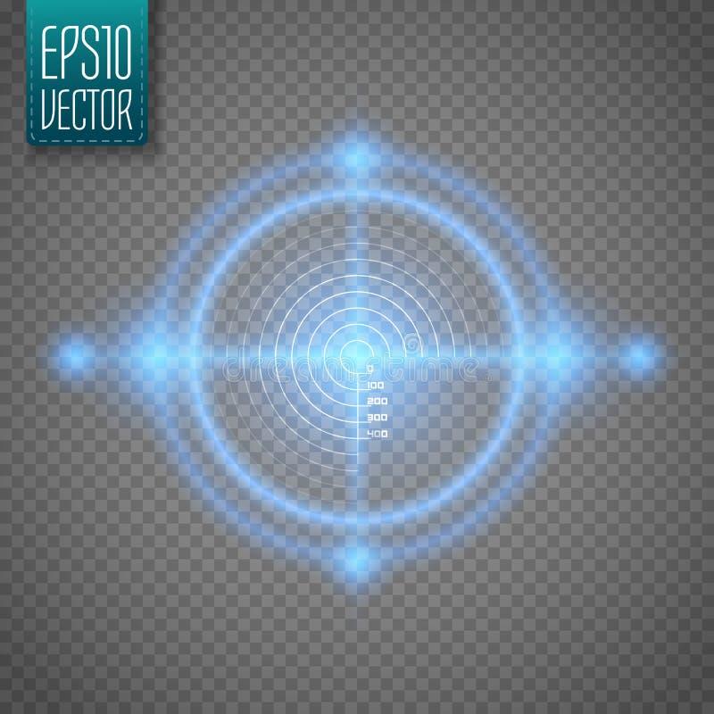 Blanco de neón Elemento del interfaz del juego Vector libre illustration