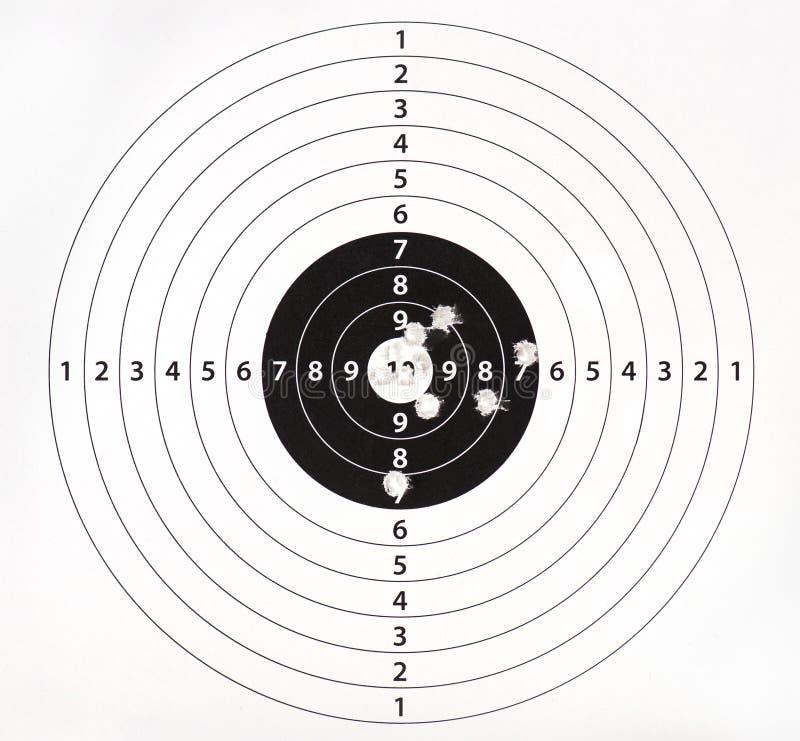 Blanco de papel para la práctica del shooting