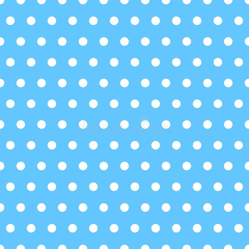 Blanco repetible básico más un modelo del color Geométrico simple ilustración del vector