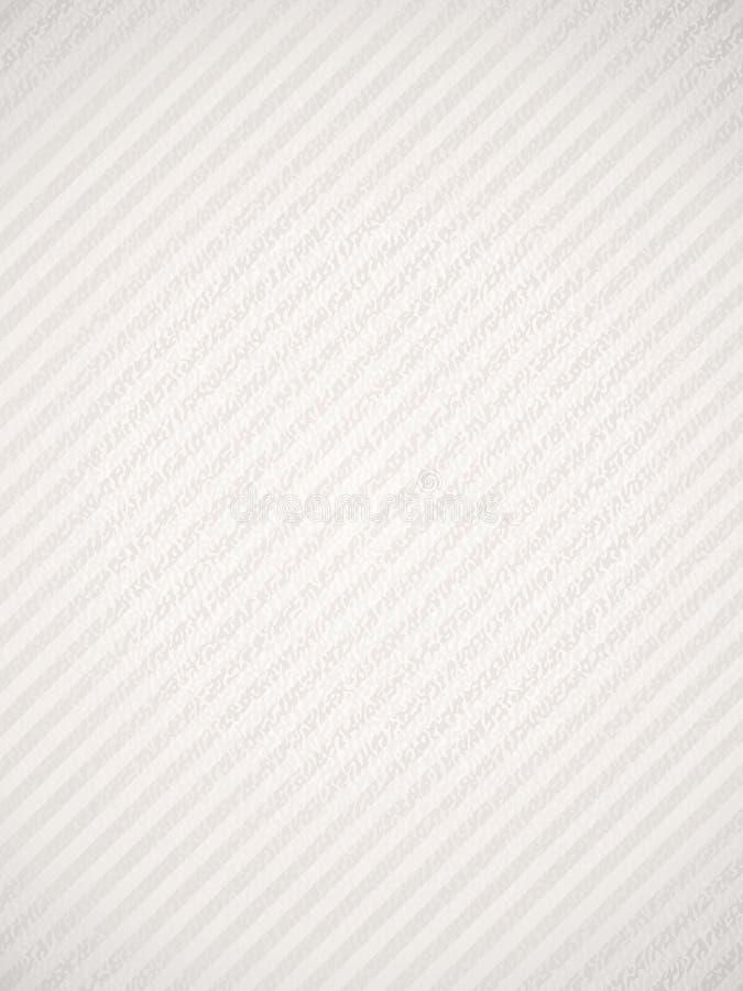 Blanco Textured stock de ilustración
