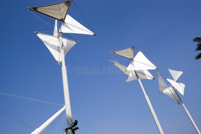 Blanco y azul, Génova imágenes de archivo libres de regalías