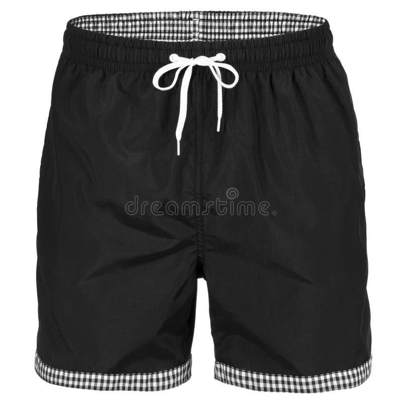 Pantalones Cortos De Los Hombres Negros Para Nadar Imagen De Archivo Imagen De Negros Nadar 92464067