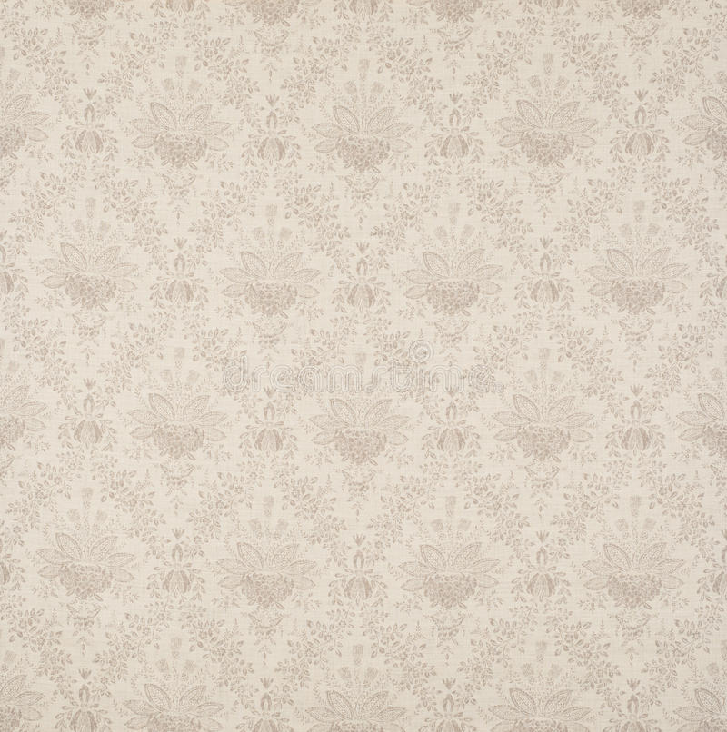 Blanco y papel pintado Swatch de Grey Floral Design Diagonal Pattern fotografía de archivo