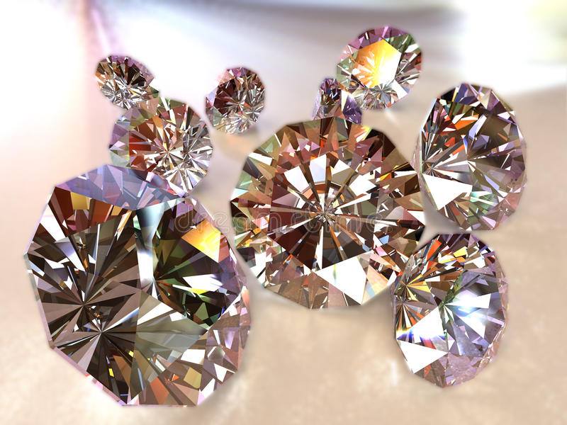bland annat bana för diamanter fotografering för bildbyråer