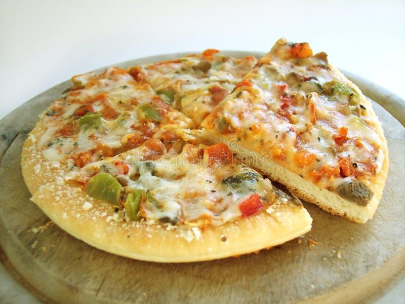 bland annat pizzaveggie för bana 3 6 arkivbilder
