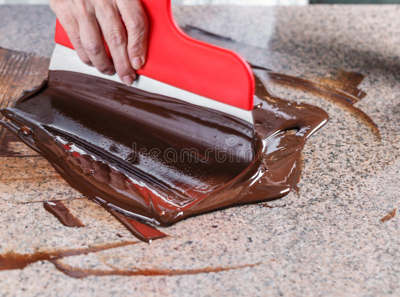 Blanda av chokladen royaltyfria bilder