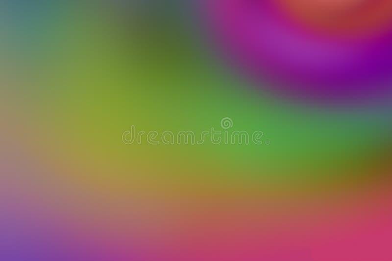 Blanda för färgrik grön purpurfärgad abstrakt för design för bakgrundssuddighet ljust grund för lutning av färggrunden fotografering för bildbyråer