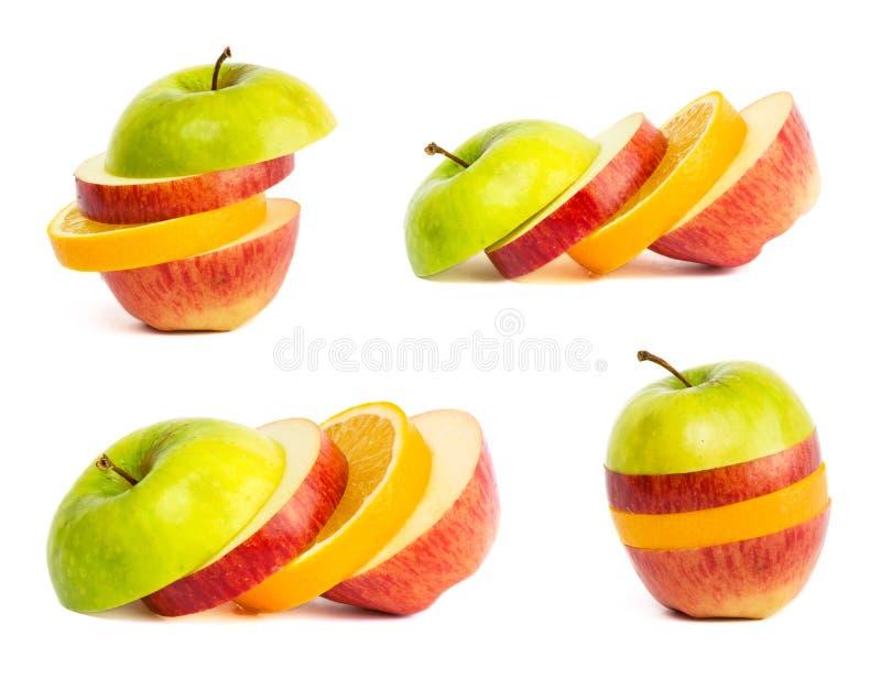 blandad frukt arkivfoton