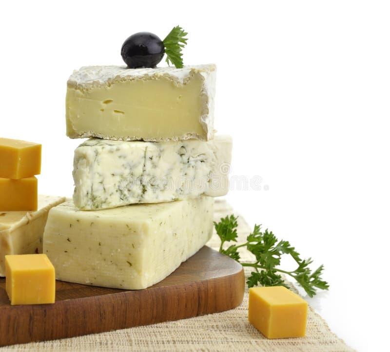 blandad ost royaltyfri bild