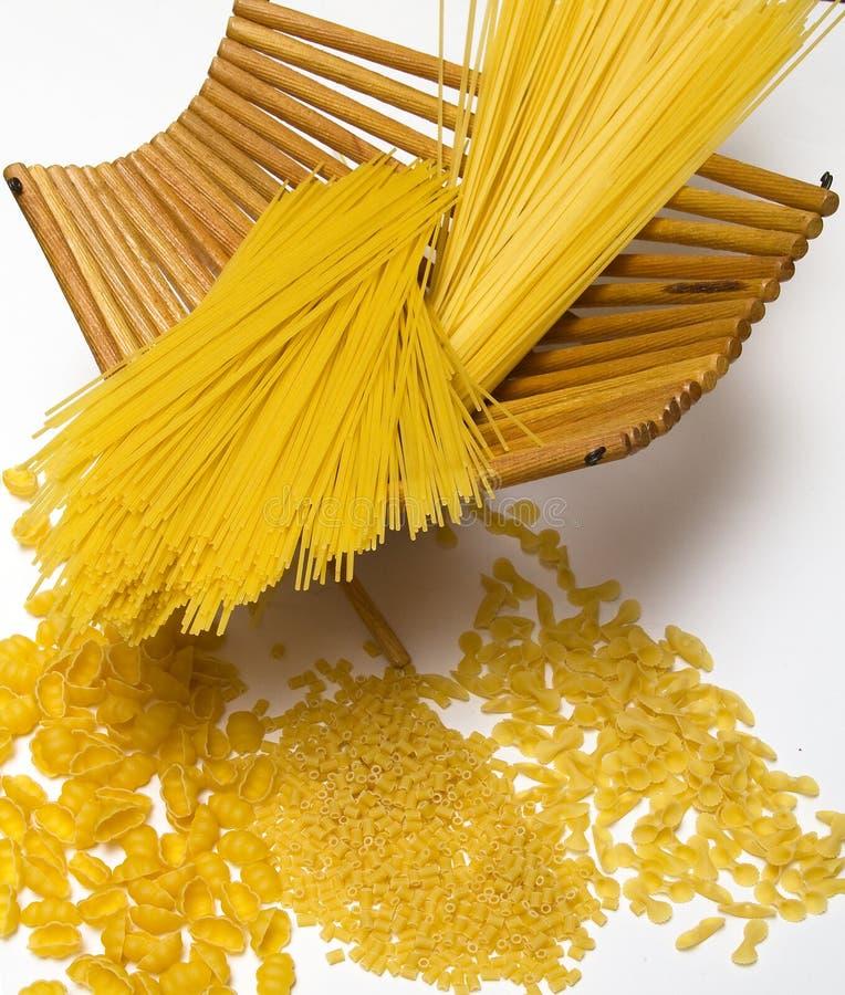 blandad pasta arkivfoton