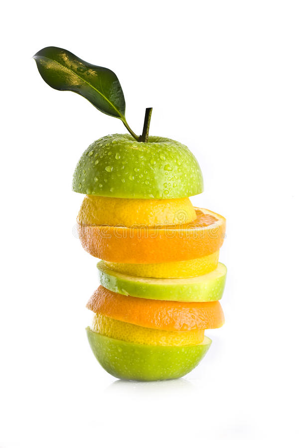 blandad sallad för frukt arkivfoto