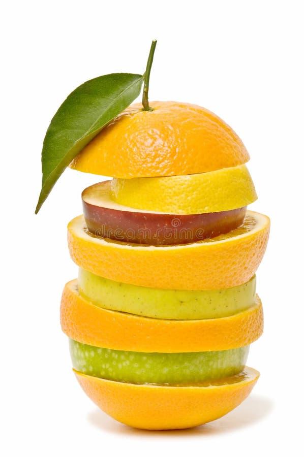 blandad variation för frukter arkivbilder