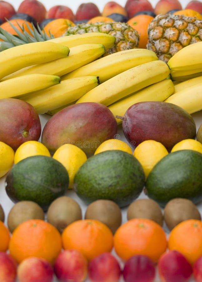 blandad white för bakgrundscloseupfrukt arkivfoton