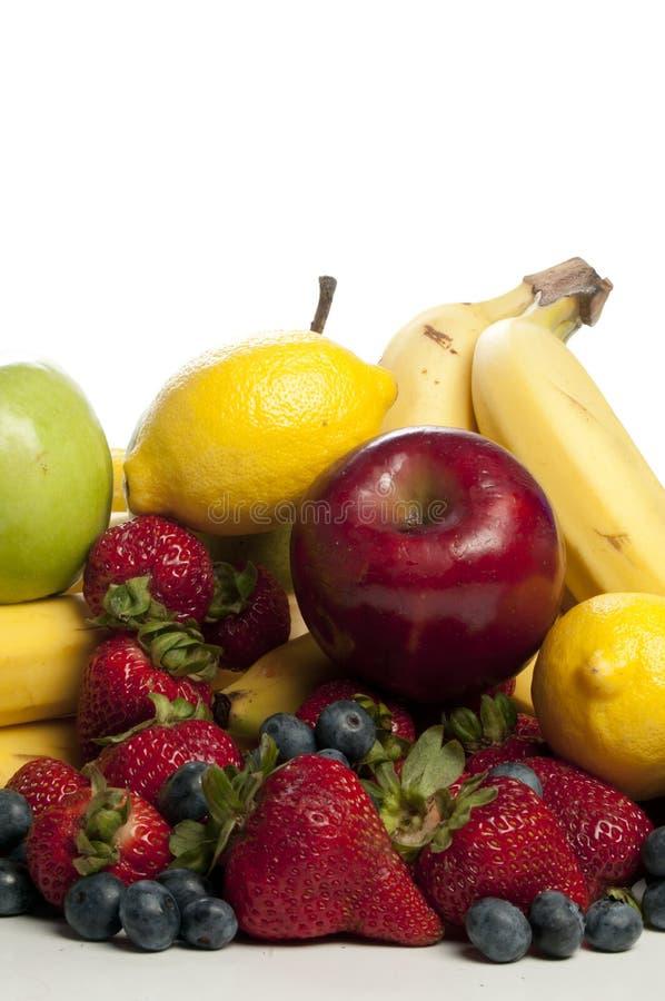 blandade frukter royaltyfri bild
