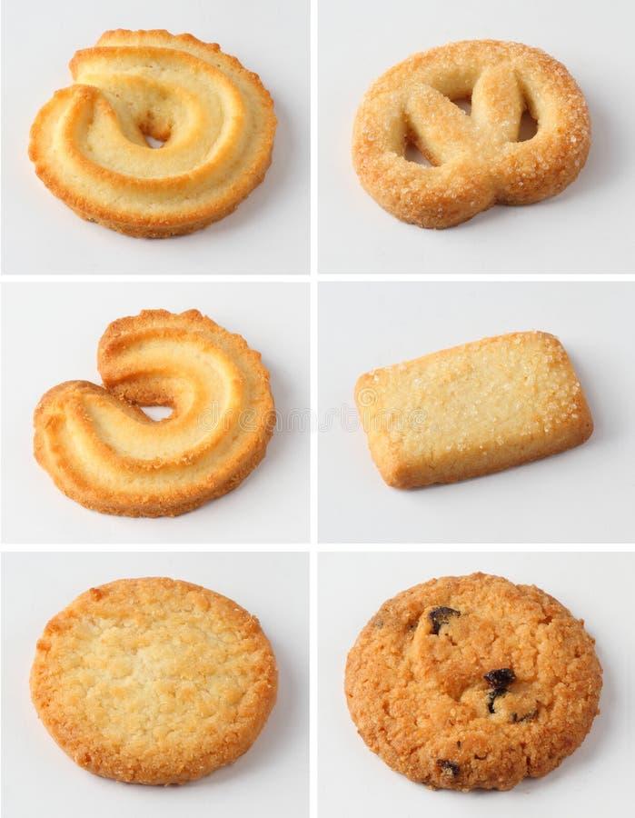 blandade kakor fotografering för bildbyråer