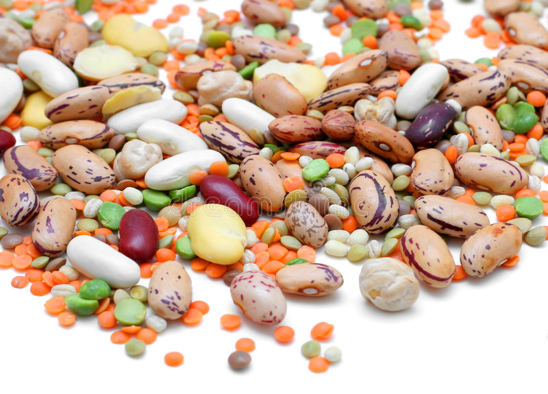 blandade legumes royaltyfri bild