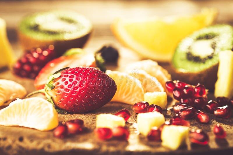 Blandade nya frukter arkivfoto