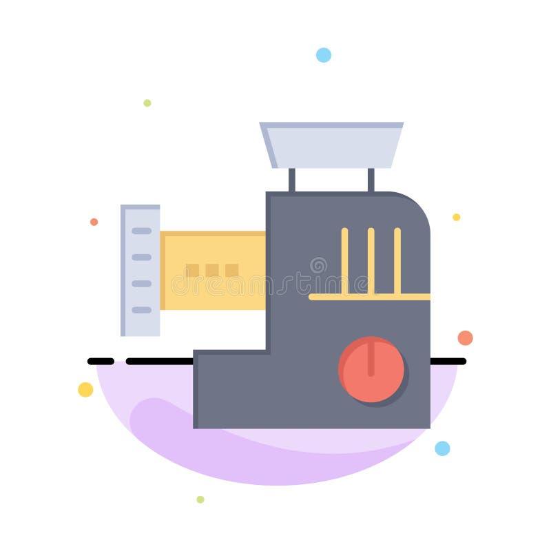 Blandare kök, handbok, för färgsymbol för blandning abstrakt plan mall vektor illustrationer
