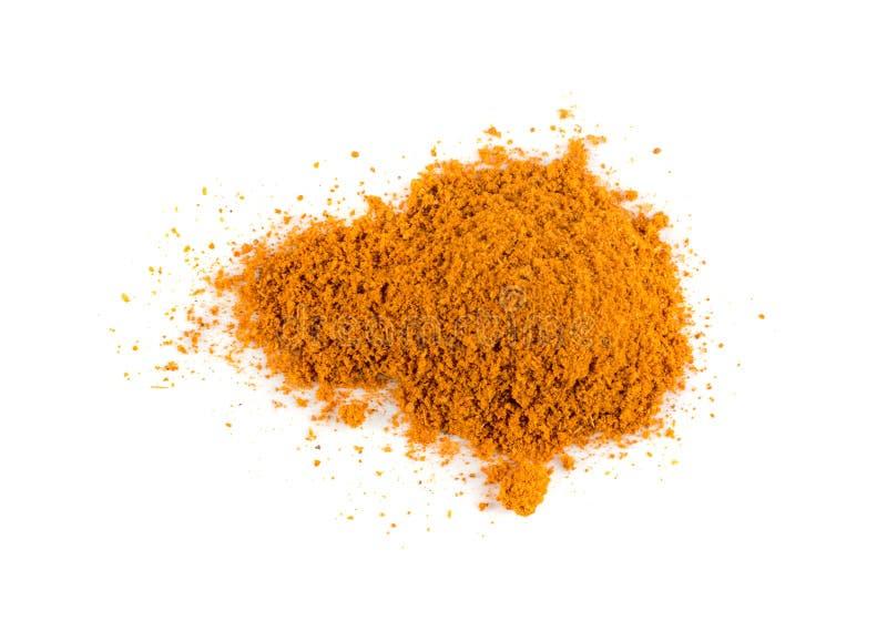 Blandning av indisk krydda- och ?rtpulvertextur arkivbild