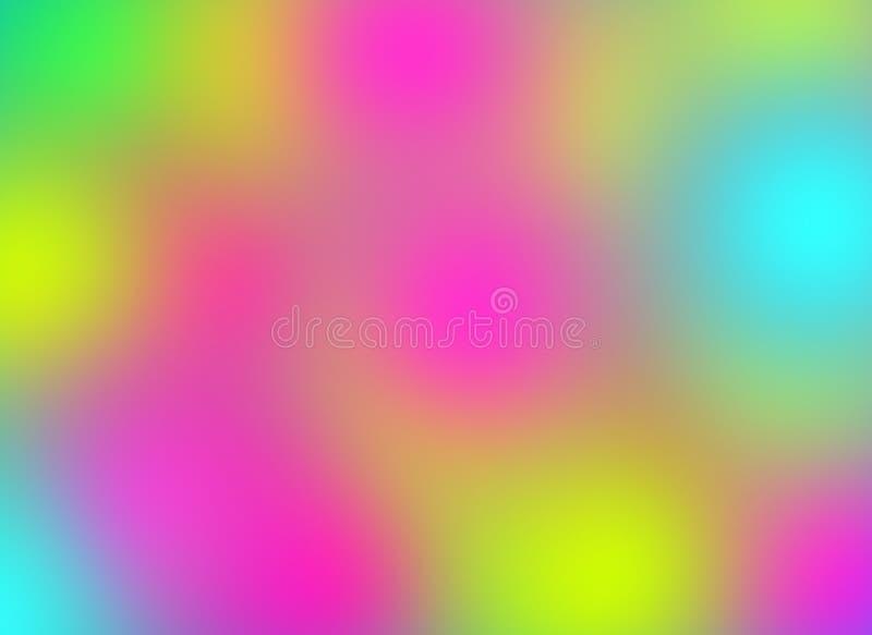 Blandning färgad bakgrund med suddighetseffekt vektor illustrationer