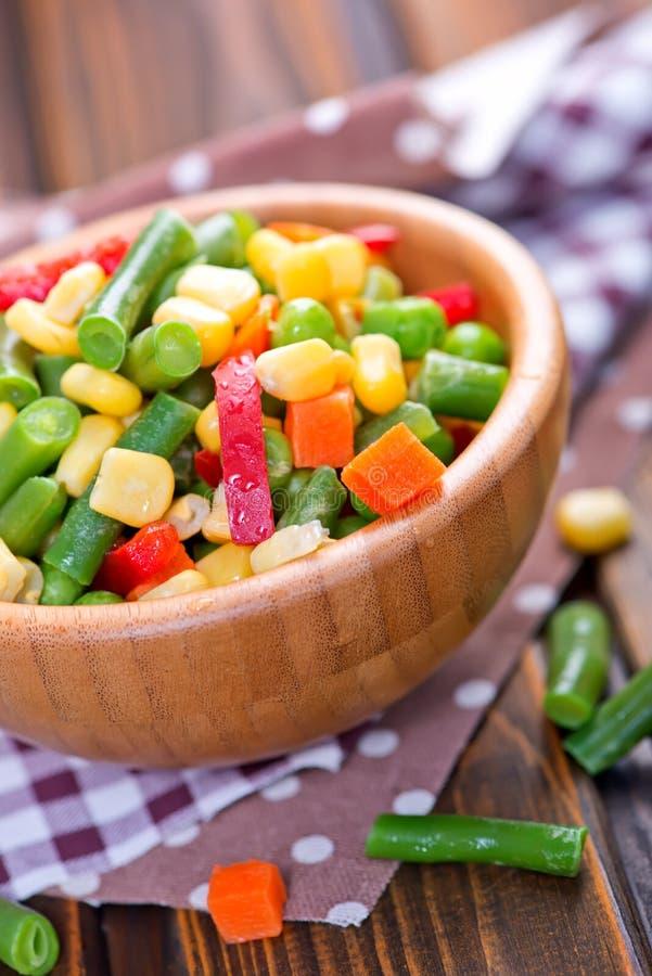 Blandninggrönsaker fotografering för bildbyråer
