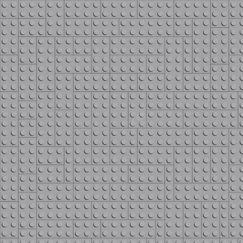 Blandningsbakgrund från lego till pacmanen royaltyfri illustrationer