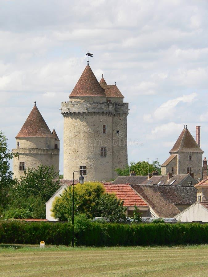 Blandy-les-reizen (Frankrijk) royalty-vrije stock afbeeldingen