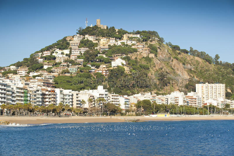 Download Blanes, Costa Brava. stock photo. Image of girona, countries - 22680360