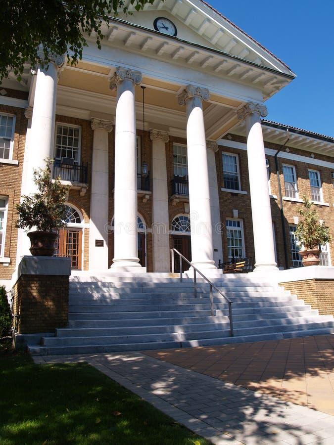 blaney雪松学院冠大厅 免版税库存图片