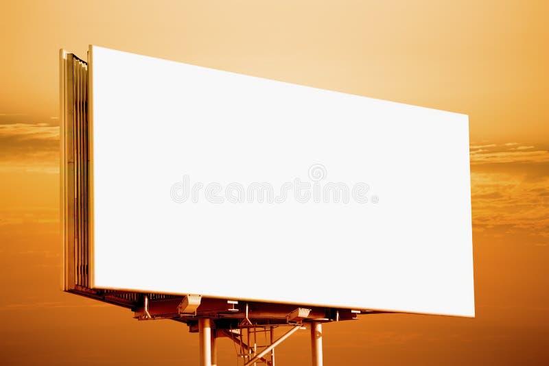 Blang billboard obraz royalty free