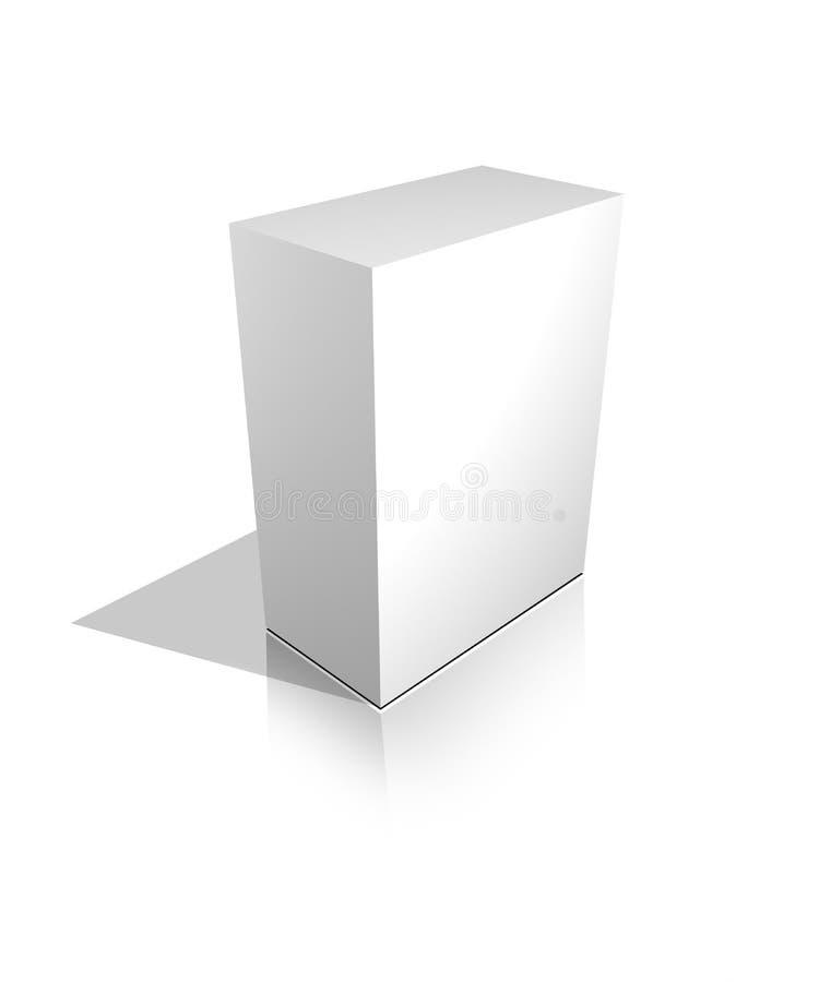 Free Blank 3d Box Royalty Free Stock Photo - 7917845