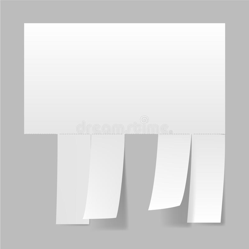 Download Blank advertisement stock vector. Image of commercial - 25077688