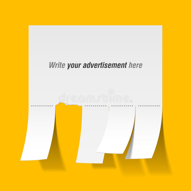Download Blank Advertisement Stock Photography - Image: 17694192