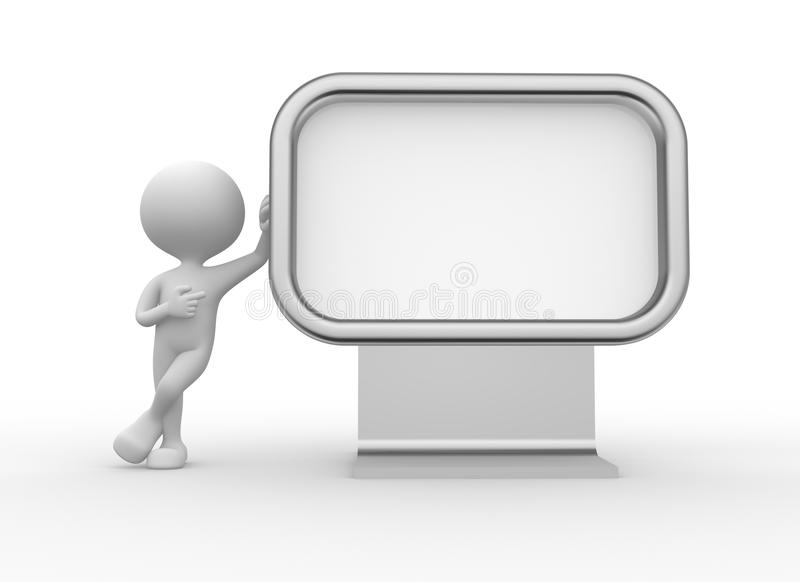 Download Blank Advertising Billboard Stock Illustration - Image: 37924582