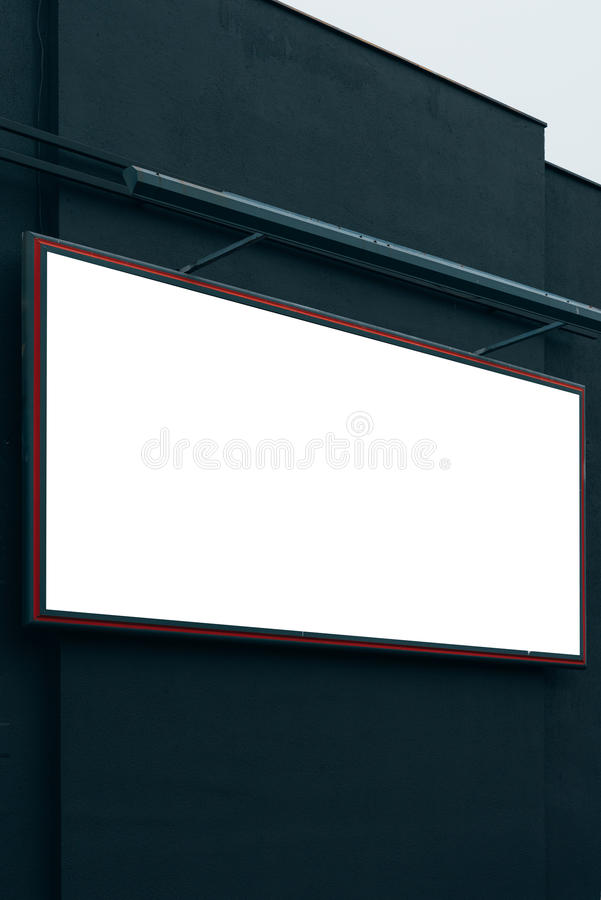 Blank advertising city billboard poster copy space. On urban building for graphic design mock up stock photos