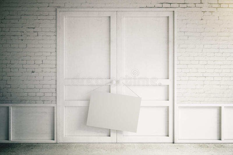 blank affisch vektor illustrationer