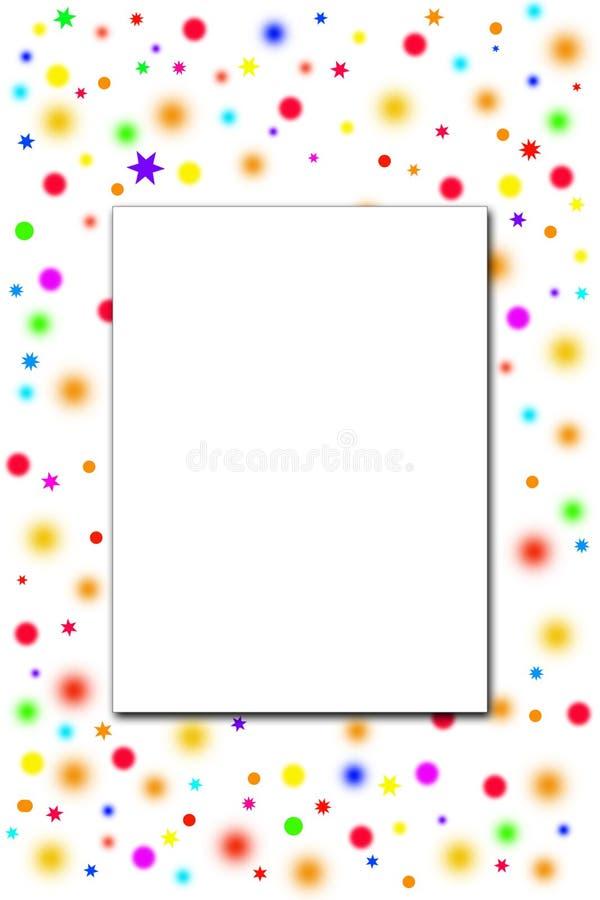 blank anmärkning stock illustrationer