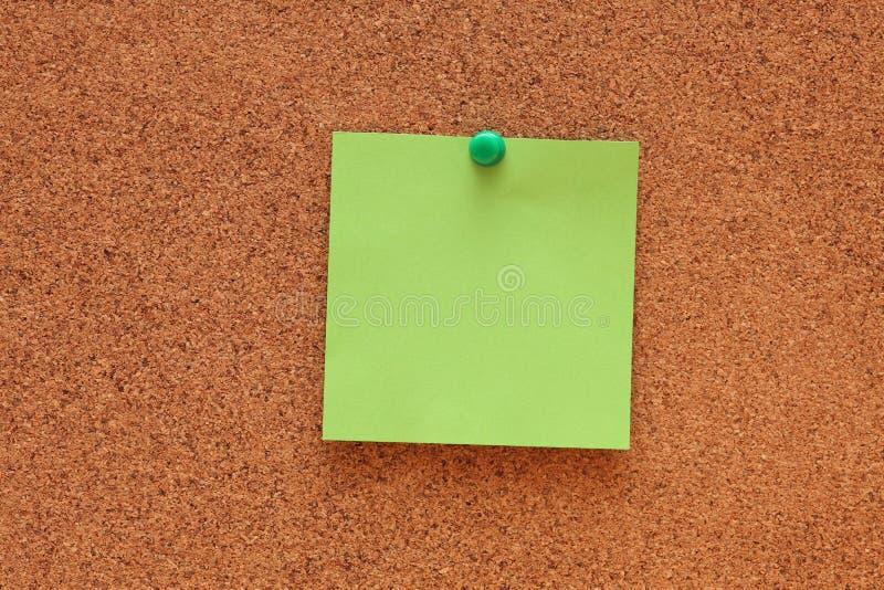 blank anmärkningsstolpe fotografering för bildbyråer