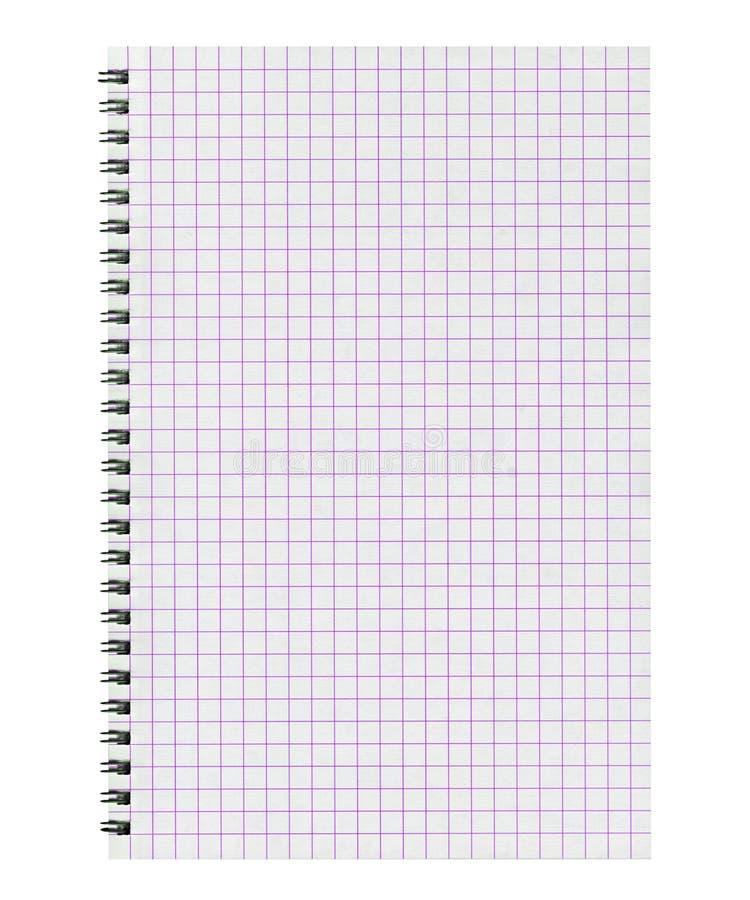 blank anteckningsboksida royaltyfria bilder