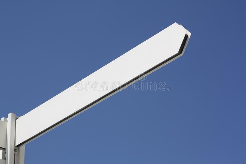 Download Blank arrow sign post stock photo. Image of concept, sign - 15447230
