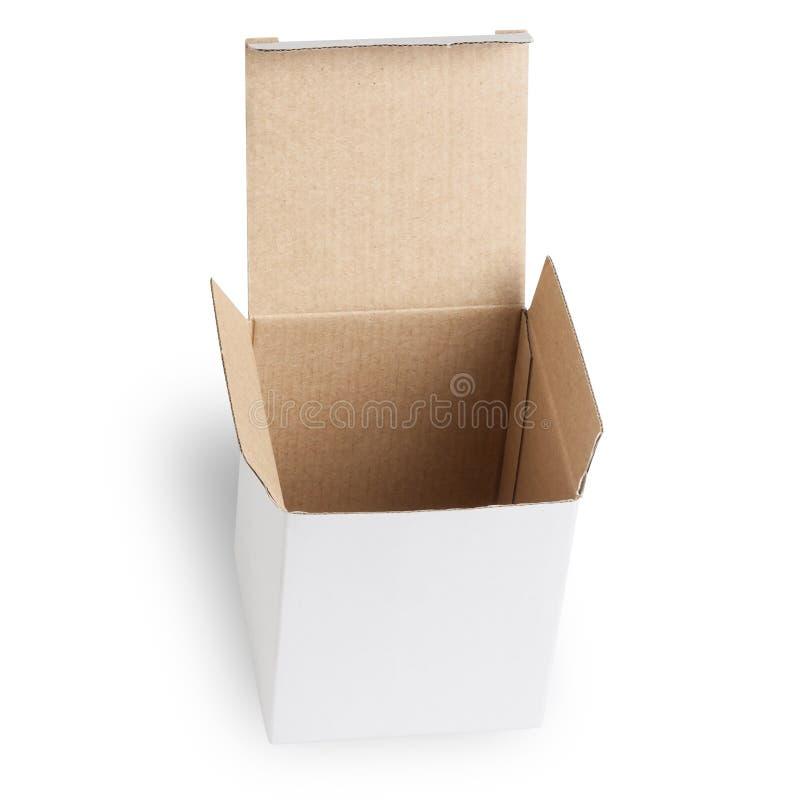 blank ask isolerad white arkivbild