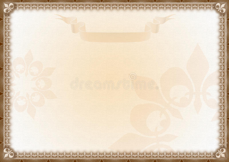 Blank Award Certificate Stock Illustration Illustration Of Employee