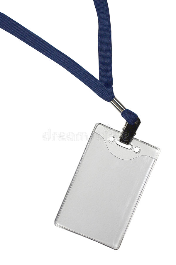 Blank backstage pass royalty free stock photography