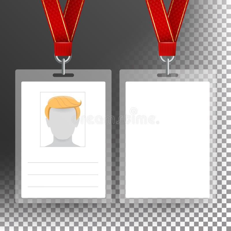 identification template