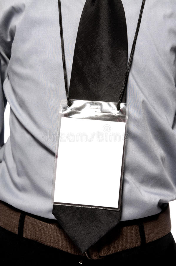Blank Badge On Torso
